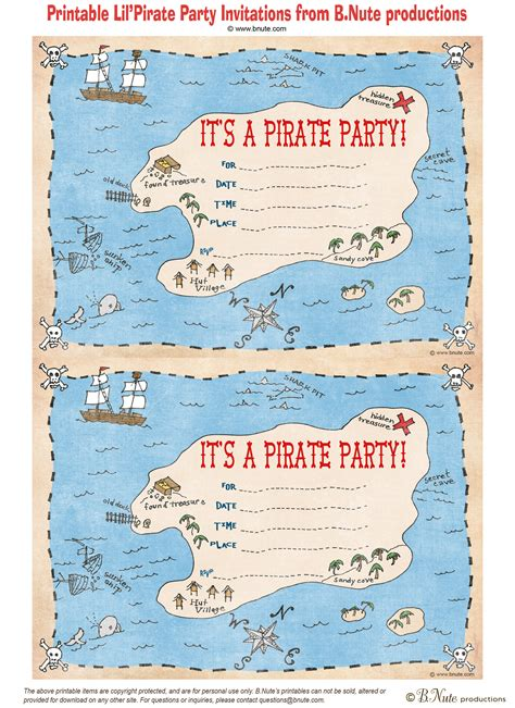 free printable invitations nz bnute productions free printable pirate party invitations