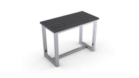 siege en bois si 232 ge en bois composite et structure en inox gris