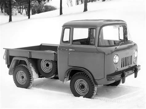 1957 Willys Jeep 1957 Willys Jeep Fc 150 4x4 Offrosd 4