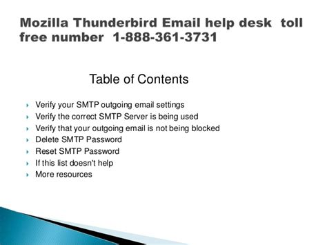 yahoo email help desk phone number mozilla thunderbird email help desk toll free phone number