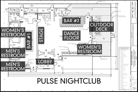 nightclub floor plan diary of a massacre how the orlando nightclub shooting