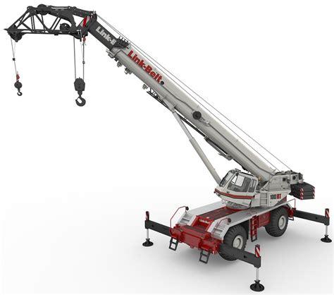 link belt 100 rt terrain crane power equipment company