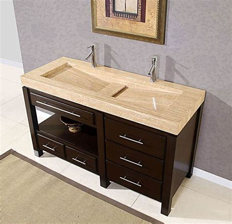 trough bathroom vanity sinks amazing trough sinks with two faucets vintage
