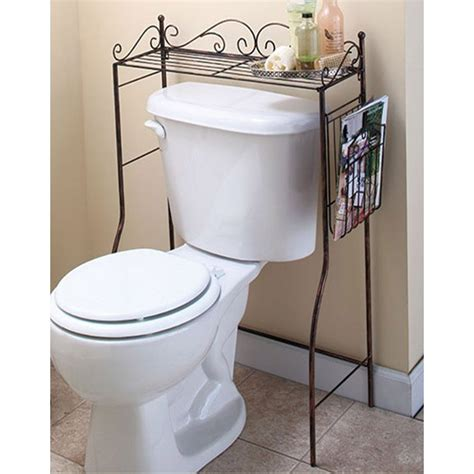 bathroom over the toilet shelves 25 bathroom space saver ideas