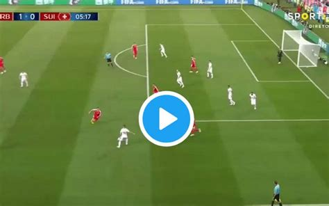 granit xhaka goal for switzerland vs serbia