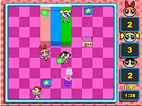 Powerpuff Pillow Fight by Gamepost Free Play A Mini Now