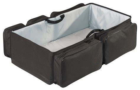 Baby Bag Travelling Baby Bag Large diaperpod travel bag with resting station for baby