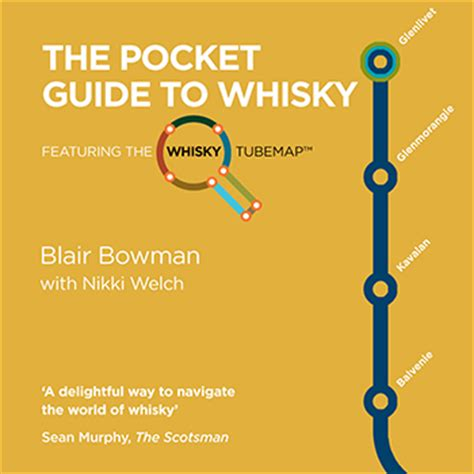 the pocket guide to whisky birlinn pocket guides books blair bowman creates whisky map