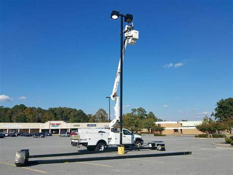 parking lot light repair parking lot lighting maintenance and repair joyner