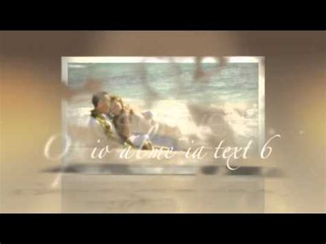 Adobe After Effects Templates Intro Weddings Particles Cs4 Project File Download Youtube Wedding Intro After Effects Templates