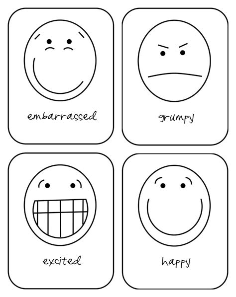 printable feelings flashcards for toddlers busy bubbers emotion flash cards hopes and dreams