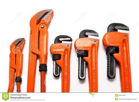Plumbing Set by Plumbing Wrenches Set Stock Photography Image 25547582