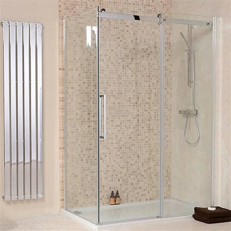 1400 X 800 Aquafloe Elite Ii 8mm Sliding Shower Enclosure 800 Shower Door