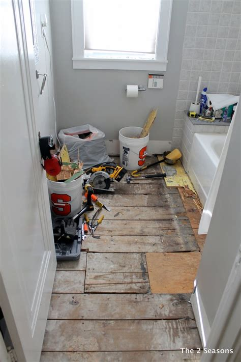 how to rip out a bathroom the 2 seasons the mother daughter lifestyle blog