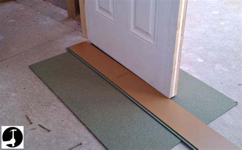 laminate flooring laminate flooring around doorway