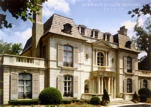 Neoclassical Homes by A French Neoclassical House In Atlanta