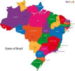 Brazil States Map by Brazil States Map