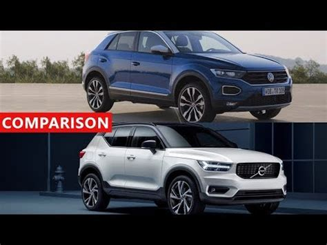 2018 volvo xc40 vs 2018 volkswagen t roc suv comparison