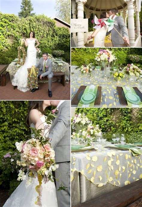Whimsical Garden Wedding Inspiration Onewed Flower Garden Wedding