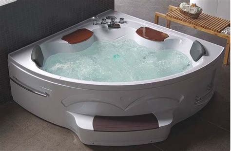 corner jacuzzi bathtub corner whirlpool spa massage tub lc0s06 luxury shower room