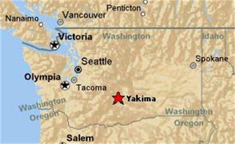 seattle to yakima map yakima washington map