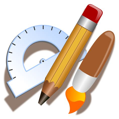 drafting tool clipart drawing tools icon