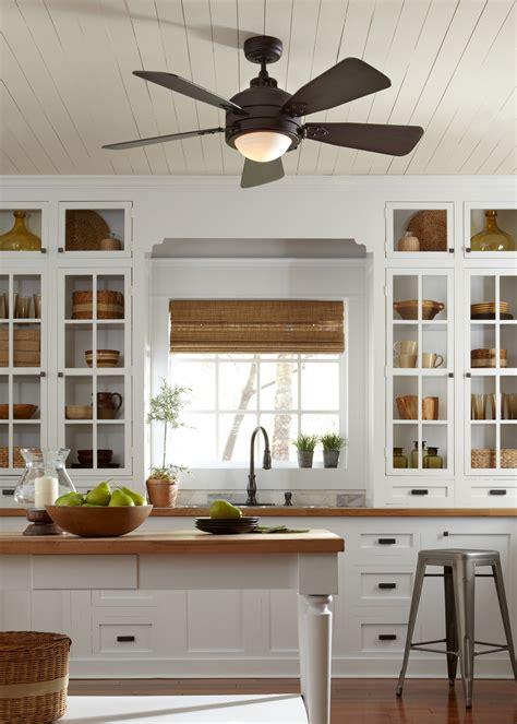 kitchen ceiling fan ideas have a vintage industrial d 233 cor the 52 quot vintage