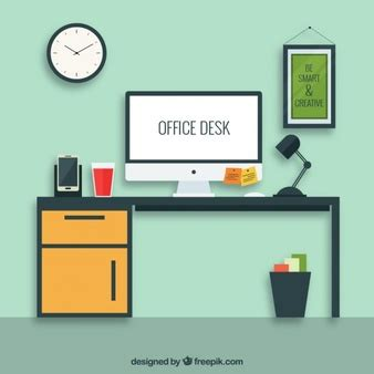 free office desk desk vectors photos and psd files free