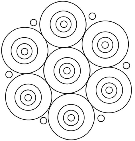 round mandala coloring pages pattern a round mandala coloring pages my stuff pinterest