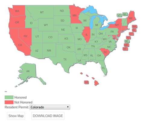 concealed carry usa map how to your state s concealed carry reciprocity