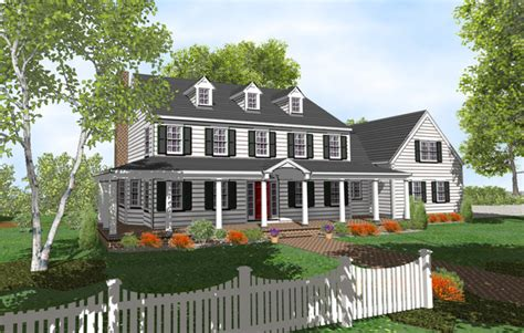 two story colonial house plans 4story colonial 2 story colonial style house plans