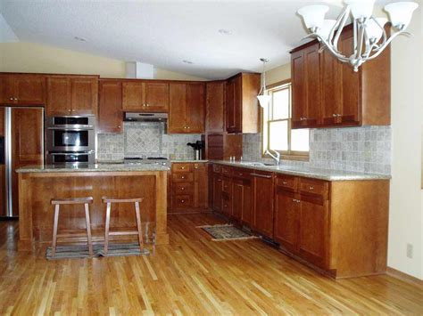 oak kitchen ideas flooring for kitchen ideas