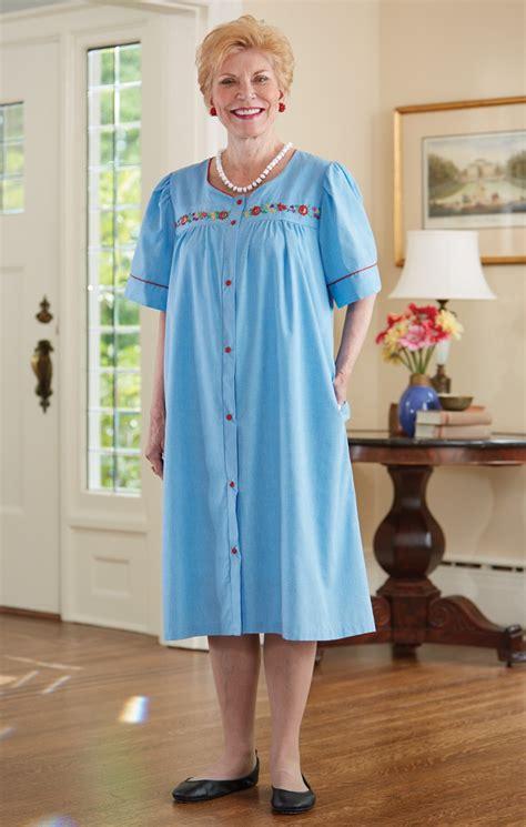 Eledy Dress chambray duster buck buck