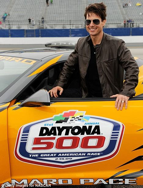 Tom Cruise To Play A Race Car Driver In New by Tom Cruise Relives His Days Of Thunder The Wheel At