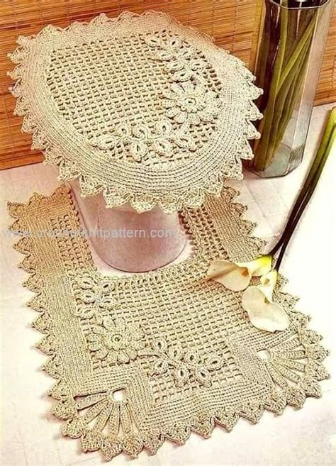 free crochet bathroom patterns bath crochet patterns beautiful crochet patterns and