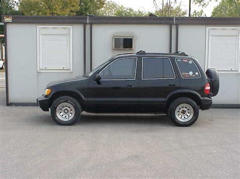 99 Kia Sportage 99 Black Sportage Kia Classics