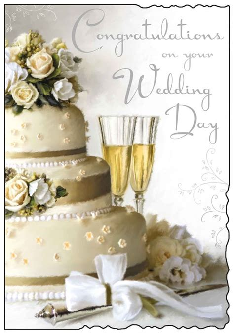 Wedding Day Congratulation Cards by Congratulations On Your Wedding Day Card Wedding