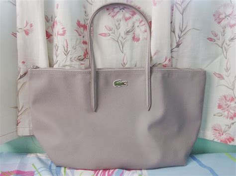 Terasli P001 Lacoste Bag Original diane wants to write lacoste concept shopping bag review an attempt to spot the