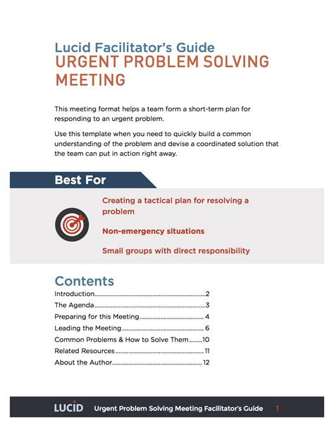 a4 problem solving template gallery templates design ideas