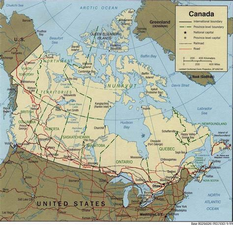 political maps of canada large detailed political map of canada canada large