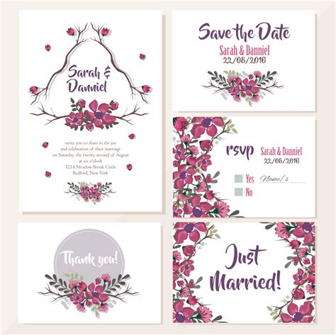 template undangan pernikahan coreldraw x5 template undangan pernikahan quot just married quot guru corel