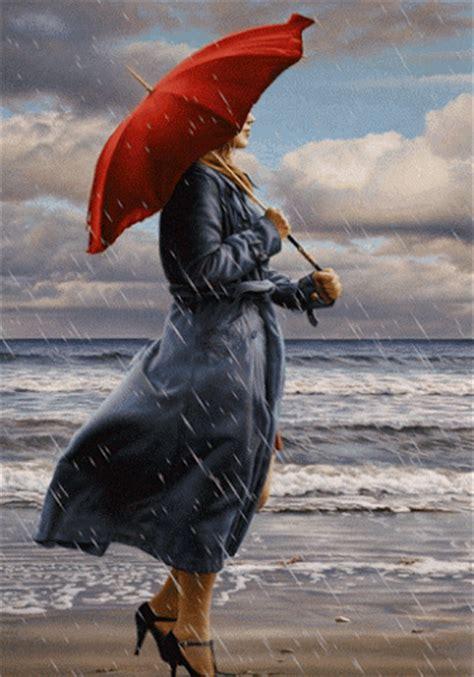 imagenes gif lluvia gif mujer bajo la lluvia gif 3958