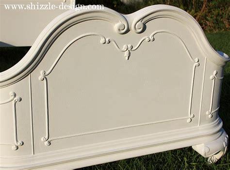 princess twin headboard shizzle design little girl s white princess bed