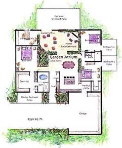 House Plans With Atrium In Center 17 Best Images About House Plans Atrium House On