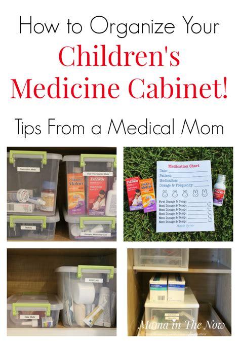 how to organize medicine how to organize your children s medicine