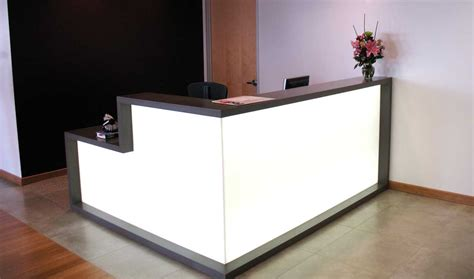 Small Reception Desk Office Furniture Office Reception Desk Designs