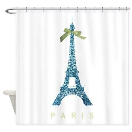eiffel tower bathroom decor blue eiffel tower paris shower curtain by inspirationzstore