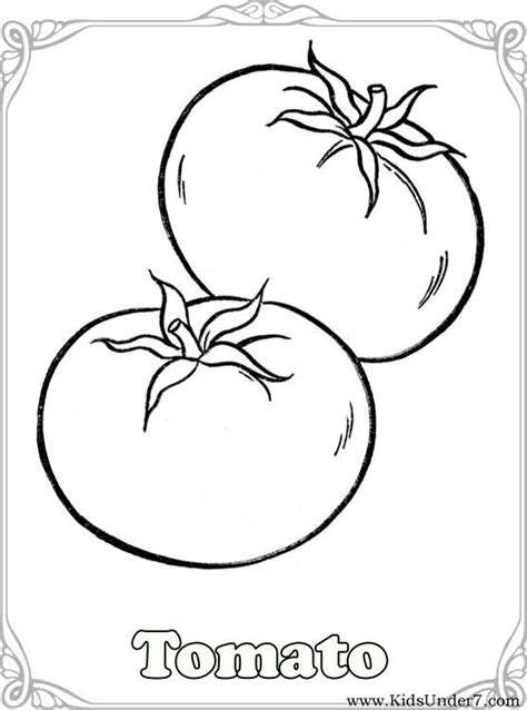 vegetables coloring pagesvegetable coloring find