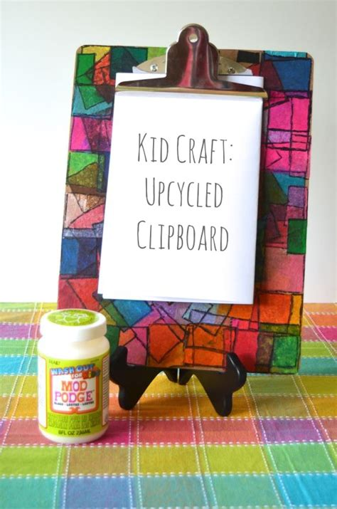 decorated clipboard fun family crafts