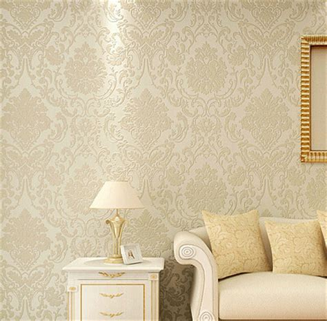 Metallic Bedroom Wallpaper by Non Woven Metallic Wall Paper Golden Wallpaper Modern